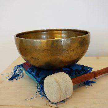 Klangschale für Meditation und Entspannung