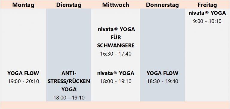 Gruppenkurse bei Yogavaras Wolfsburg